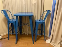 Counter high Table and chairs in Okinawa, Japan