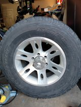 """Set/4.  4wd ATV tires on Mag wheels ( ready to run ) 17"""" in Spring, Texas"""