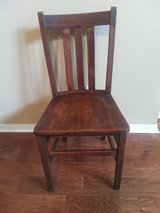 Oak Chair Restored from the early 1900's in Spring, Texas