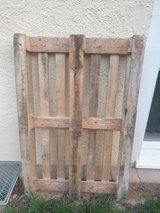 wooden pallet in Spangdahlem, Germany