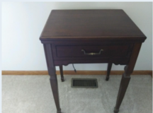 KENMORE SEWING MACHINE (IN CABINET) in Plainfield, Illinois