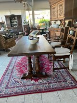 rustic antique French farm house table in Grafenwoehr, GE