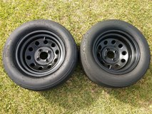 rims and slick for a honda drag car or fast street car 4 lug in Cherry Point, North Carolina