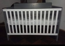 Crib with new mattress she slept in it 2 times in Conroe, Texas