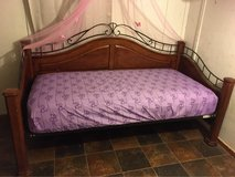 Matching twin bed frames for both $150 in Conroe, Texas