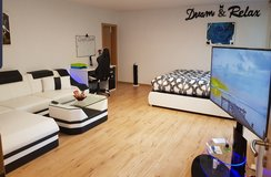 Long term luxurious modern art studio apartment at the LRMC, available again at the end of November in Ramstein, Germany