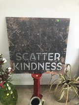 large Scatter Kindness wall art in Conroe, Texas