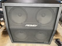 Peavey 4x12 Angled  Cabinet (Guitar) 16 ohms with casters 300 watts in Okinawa, Japan