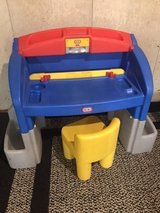Little Tikes desk/workbench with chair in Naperville, Illinois