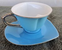 Tea cup and saucer in Alamogordo, New Mexico