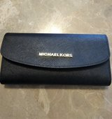 Michael Kors Jet Set Leather Checkbook Wallet in Conroe, Texas