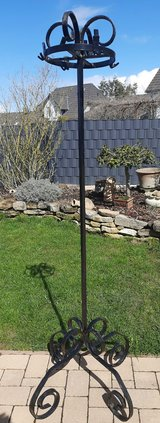 Old large, heavy coat stand-wrought iron all handmade!! in Spangdahlem, Germany