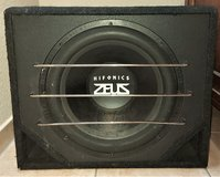 Hifonics Zeus ZR 15 subwoofer - great condition! in Spangdahlem, Germany