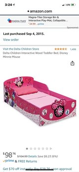 Minnie mouse toddler bed in 29 Palms, California