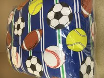 Sports Themed Twin Comforter NEW in Toms River, New Jersey
