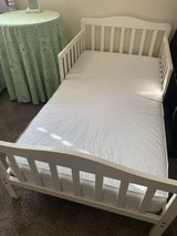 Toddler bed with mattress in Camp Pendleton, California