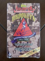 1995 Topps Archives Brooklyn Dodgers Commemorative Set Wax Box in Yucca Valley, California