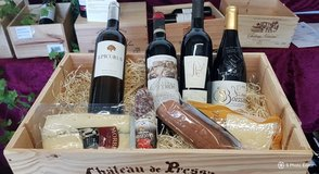 Wine Crate filled with French Specialities in Wiesbaden, GE