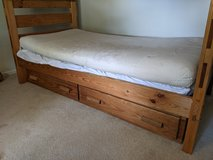 5 pc Pine Children's Bedroom Set w/Bunkbeds in Lackland AFB, Texas