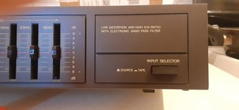 Technics 8017 equalizer with band pass filters in Cannon AFB, New Mexico