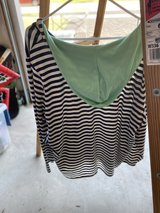 Women's 3X Striped Shirt with Hood in Naperville, Illinois