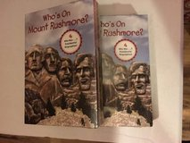 Set of books (Who's On Mount Rushmore) in Kingwood, Texas