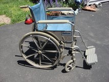 TUFF CARE OLDER MODEL ADULT WHEEL CHAIR in Naperville, Illinois