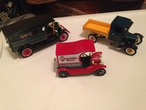 3 antique style collectible trucks in Spring, Texas