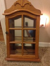 display case with mirrored back in Spring, Texas