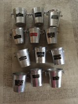 collection 12 french vintage Champagner buckets in Ramstein, Germany