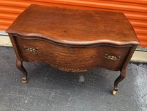 Qtr Oak Double Serpentine 1 Drawer in Cherry Point, North Carolina