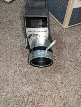 Vintage bell and Howell movie camera in Camp Lejeune, North Carolina