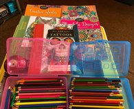 Adult coloring book lot in Byron, Georgia