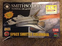 Space Shuttle Columbia model kit in Spring, Texas