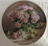 """GORGEOUS """"PEONIES"""" IN BLOOM Collector Plate DECOR- NEW! in Naperville, Illinois"""