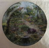 """BEAUTIFUL! """"The Cottage Garden"""" Bradford Collectible Plate Decor in Naperville, Illinois"""