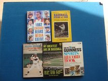 FIVE OLD SPORTS RELATED PAPERBACK BOOKS in Aurora, Illinois
