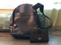 Coach cross body sling bag and wallet in Okinawa, Japan