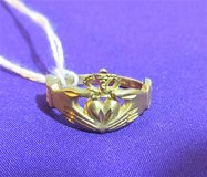 New St. Patrick's Day Claddagh Ring 10K Gold  2 grams size 7 in Fort Campbell, Kentucky