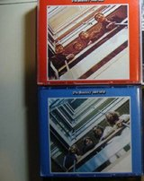 Beatles 62 thru70 red and blue  Apple cds in Naperville, Illinois
