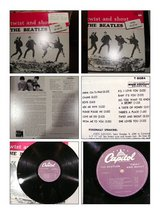 Beatles twist and shout [vinyl] record in Naperville, Illinois