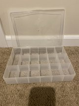Small bead jewelry storage container in Bolingbrook, Illinois