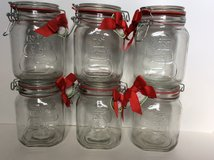 Snowman Storage Jars Canisters Bails Lids Seals in Bolingbrook, Illinois