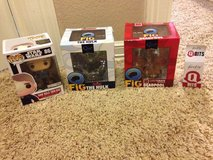 lot of 4 action figures in Spring, Texas