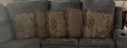 Large couch pillows in Kingwood, Texas