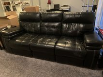 Double leather recliner Couch in Fairfax, Virginia