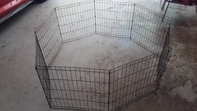 METAL FOLD-UP PUPPY PLAY YARD--STILL AVAILABLE in Warner Robins, Georgia