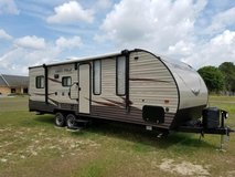 2017 Forest River Grey Wolf 30 foot Toy Hauler 22rr Camper in Fort Drum, New York