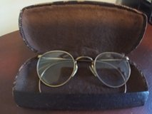 Vintage Mid Century 12K Gold Filled Wire Rim Spectacles/ Glasses in Warner Robins, Georgia