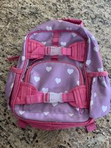 Purple Backpack with Hearts in Joliet, Illinois